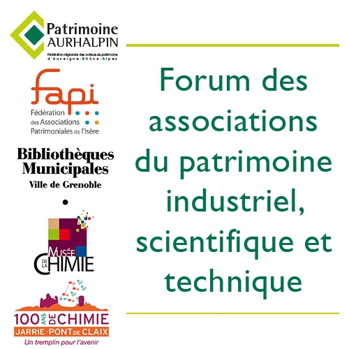 Forum des associations du patrimoine industriel scientifique et technique
