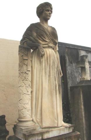 Appel aux dons pour la statue de la Dame Blanche