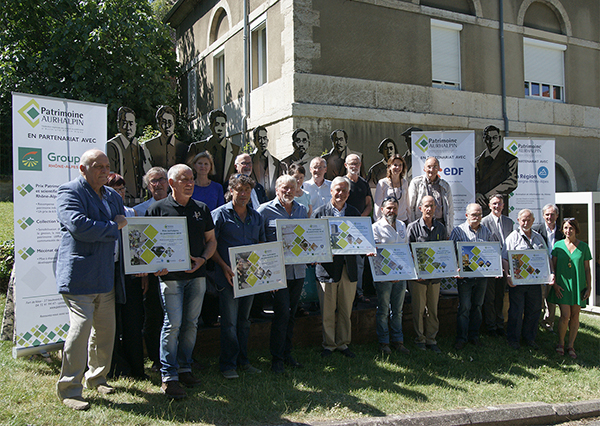 Lauréats des Prix aurhalpins du patrimoine 2018