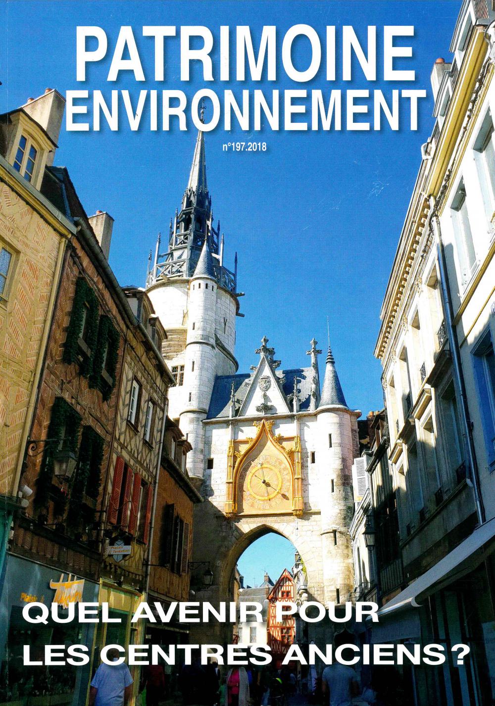 Nouvelle revue de Patrimoine Environnement