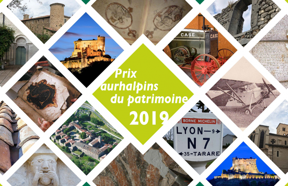 Cérémonie de remise des Prix aurhalpins du patrimoine 2019