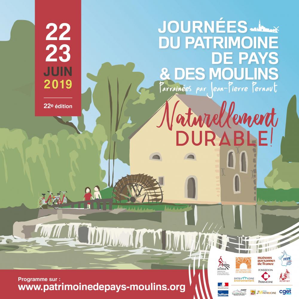 Journées du Patrimoine de pays & des moulins