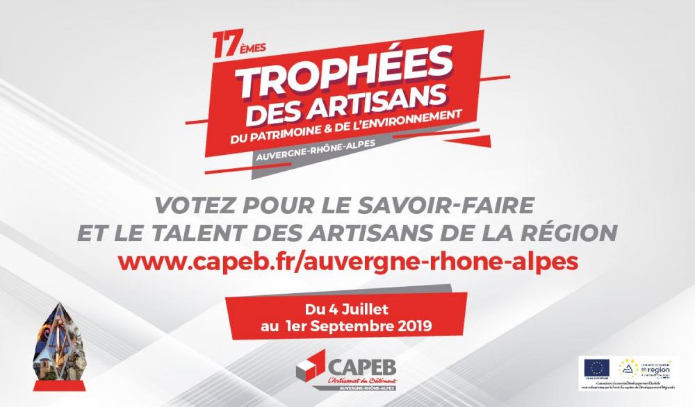 Prix du public des Trophées de la CAPEB Auvergne-Rhône-Alpes