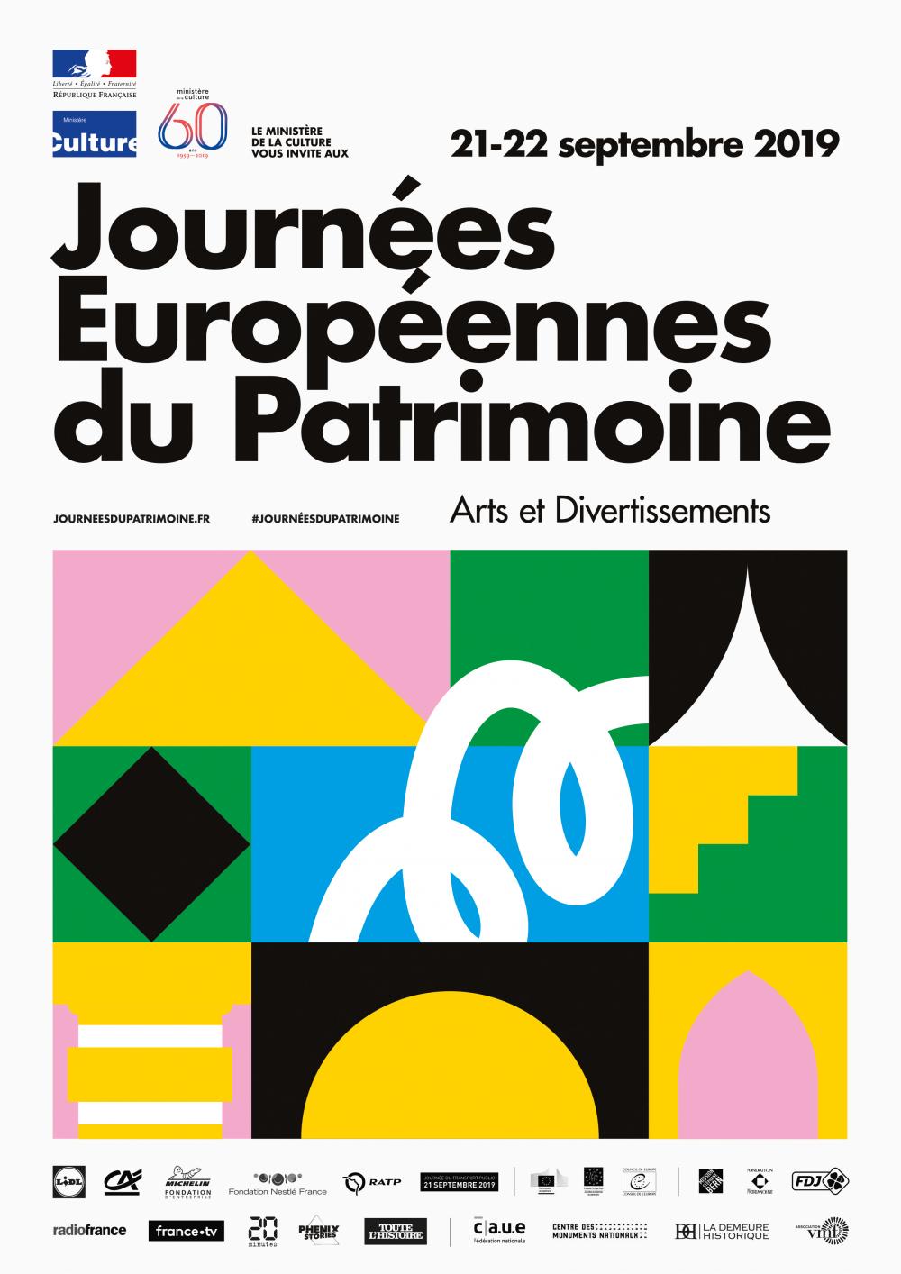 Rappel : Journées européennes du patrimoine
