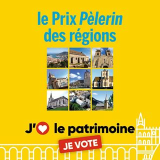 Vote du public pour le Prix Pèlerin des régions