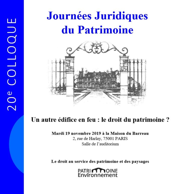 Journées Juridiques du Patrimoine
