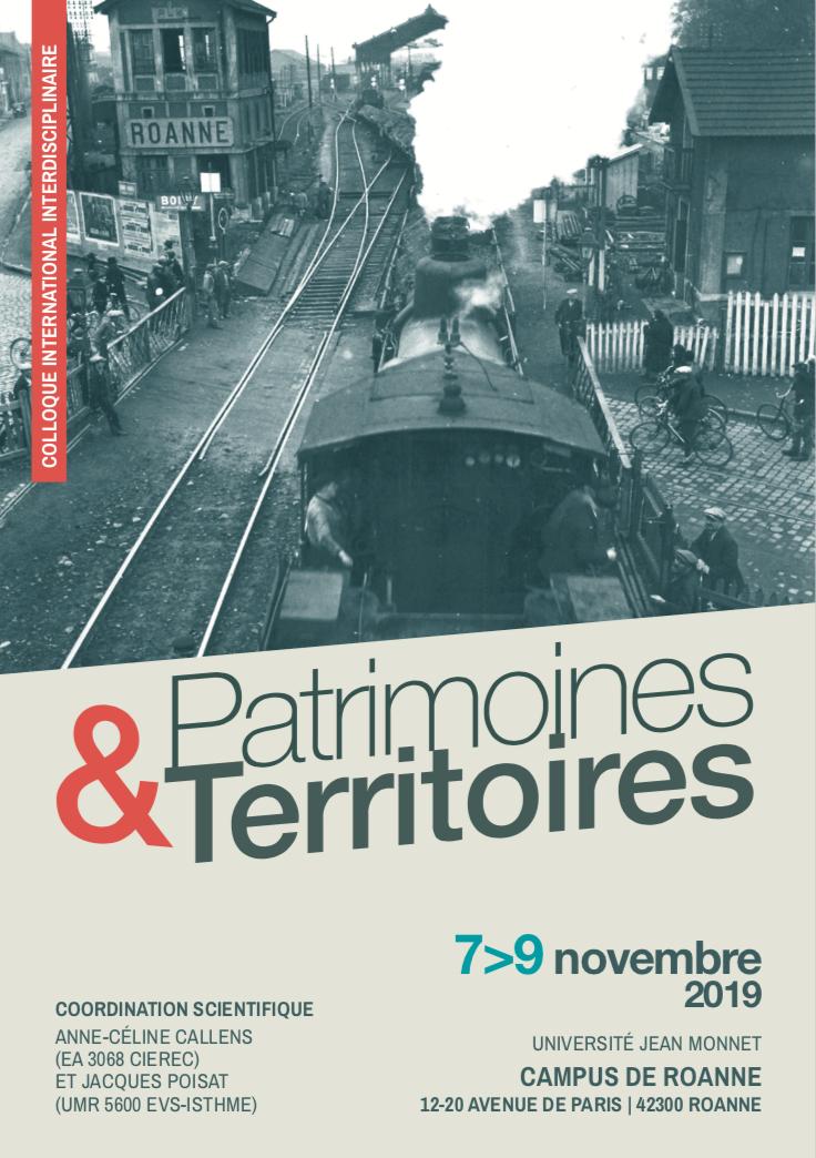 Colloque International Interdisciplinaire - Patrimoine et territoires