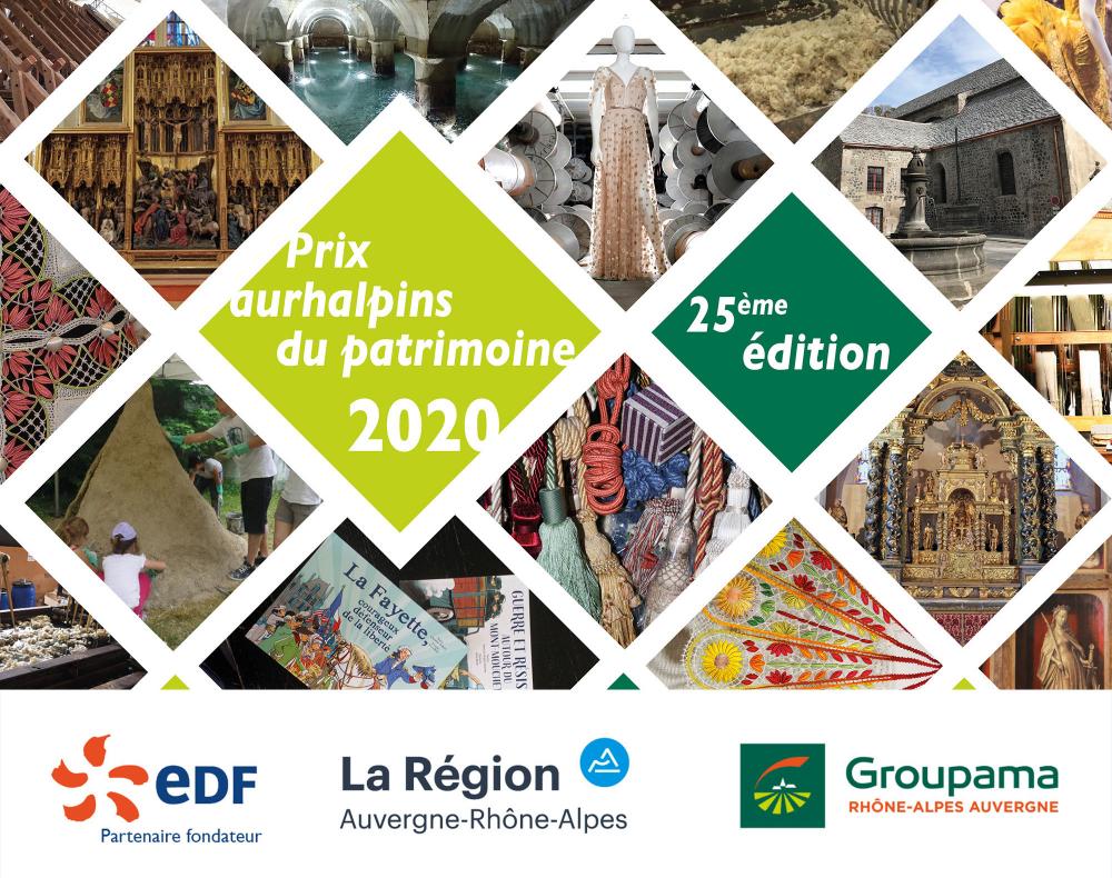 Candidatez aux Prix aurhalpins du patrimoine jusqu'au 7 mai !