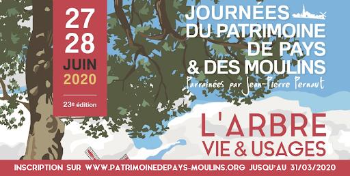 Prolongation des inscriptions aux Journées du Patrimoine de Pays et des Moulins !