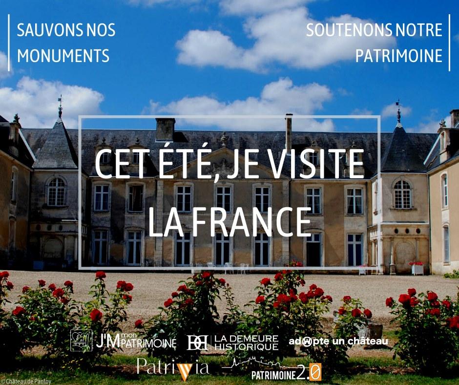 Cet été je visite la France !