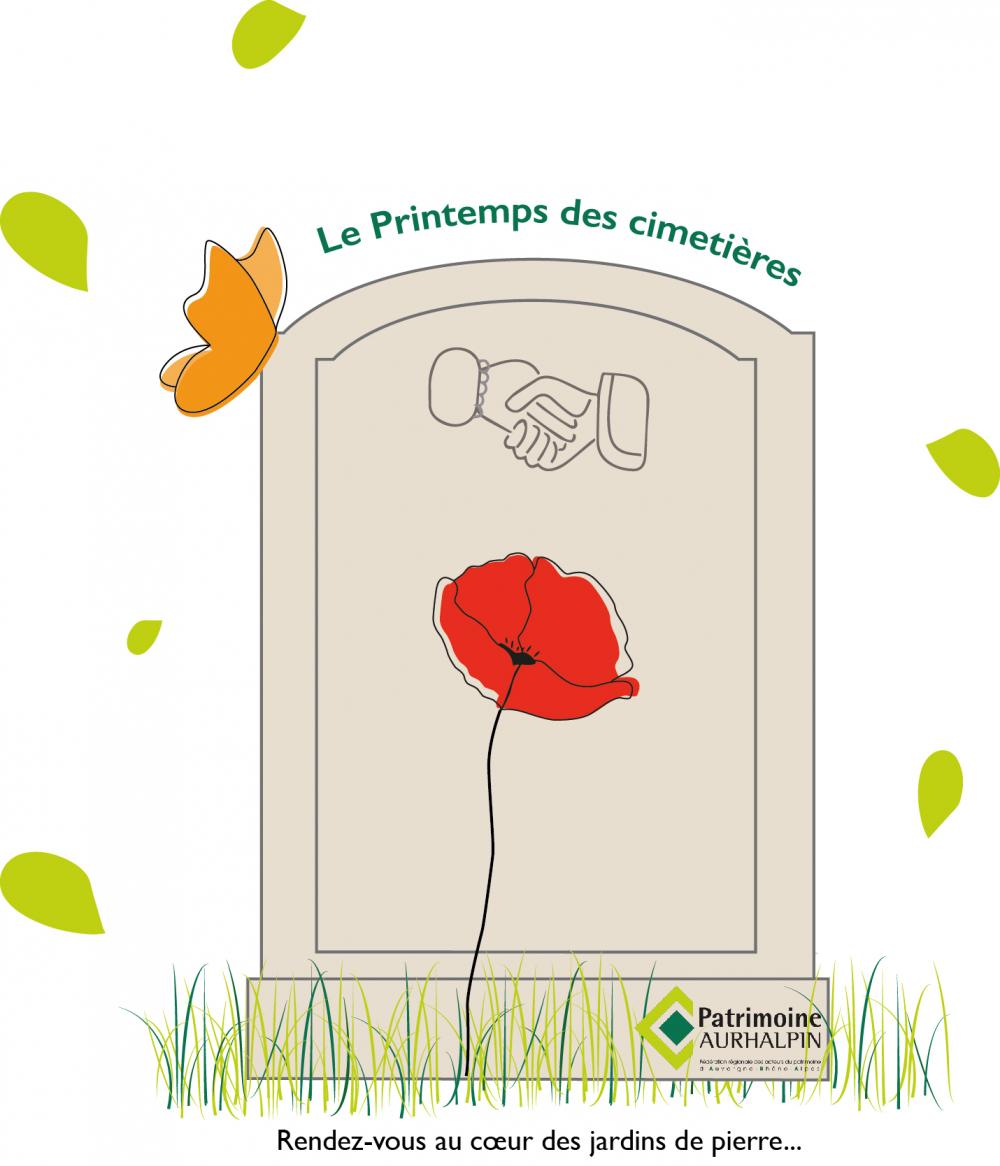 Le Printemps des cimetières sur les réseaux sociaux !
