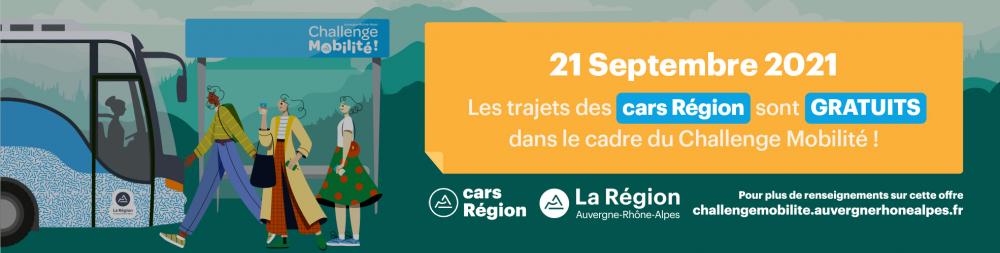 Challenge Mobilité Auvergne-Rhône-Alpes