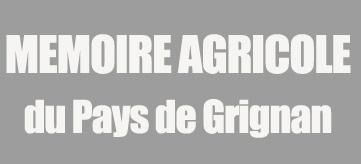Mémoire agricole du Pays de Grignan