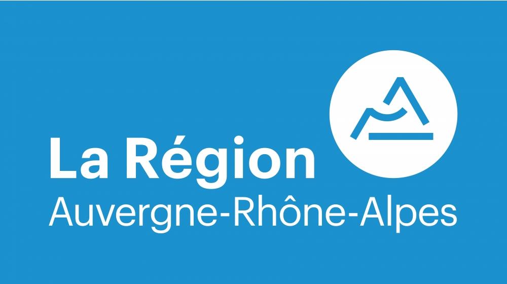 Le nouveau logo de la région Auvergne-Rhône-Alpes